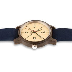 montre en bois bracelet nato Baikal