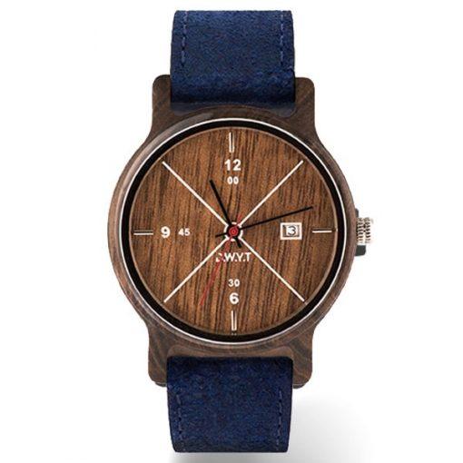 montre-bois-leman-classique-bleu-saphir