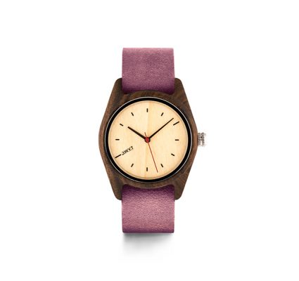 Montre Forest Santal érable Femme Nato Voilet prune