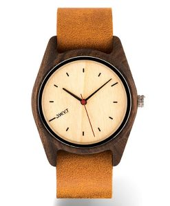 montre-bois-sequoia-nato-marron-alezan