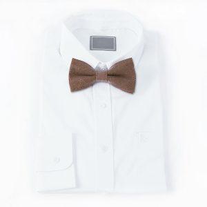 noeud papillon en liège pour chemise homme
