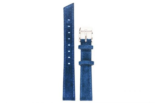 bracelet de montre en cuir bleu