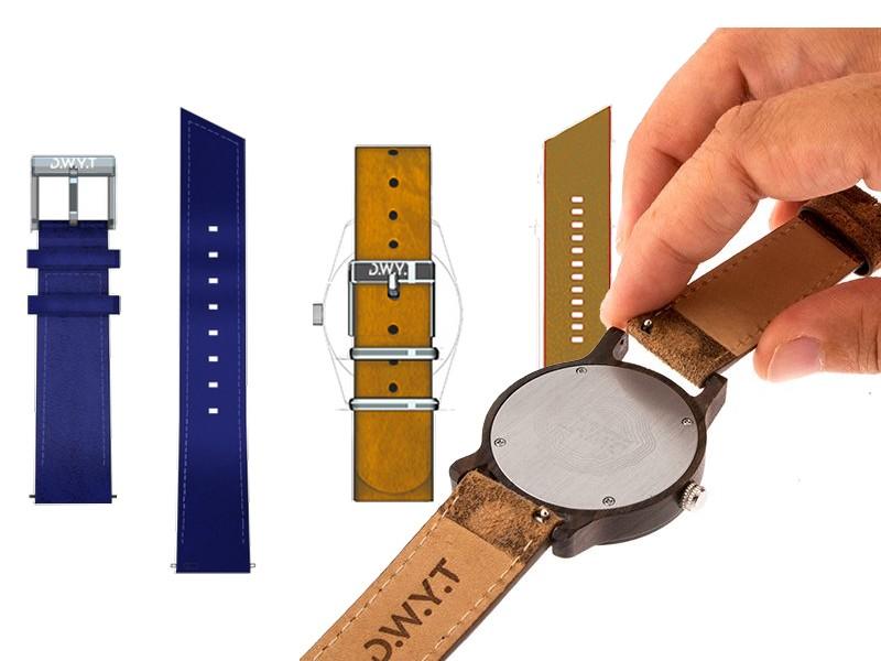 bracelets de montres interchangeables