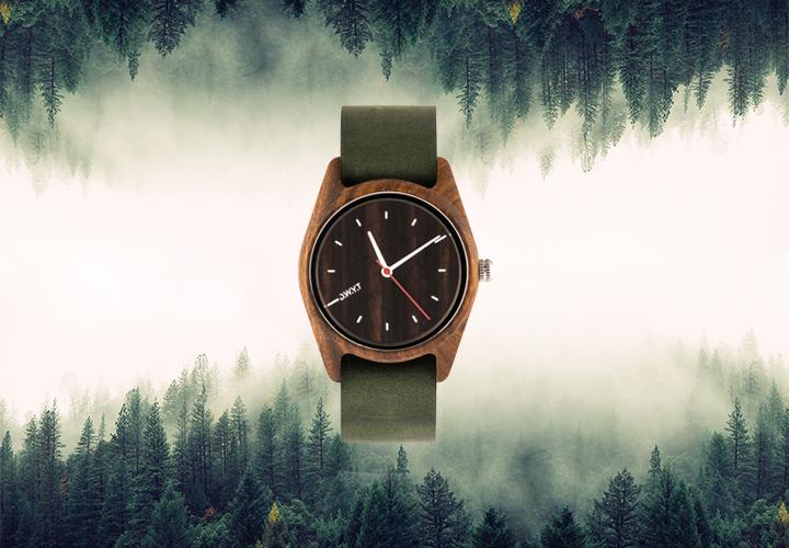 acheter une montre en bois