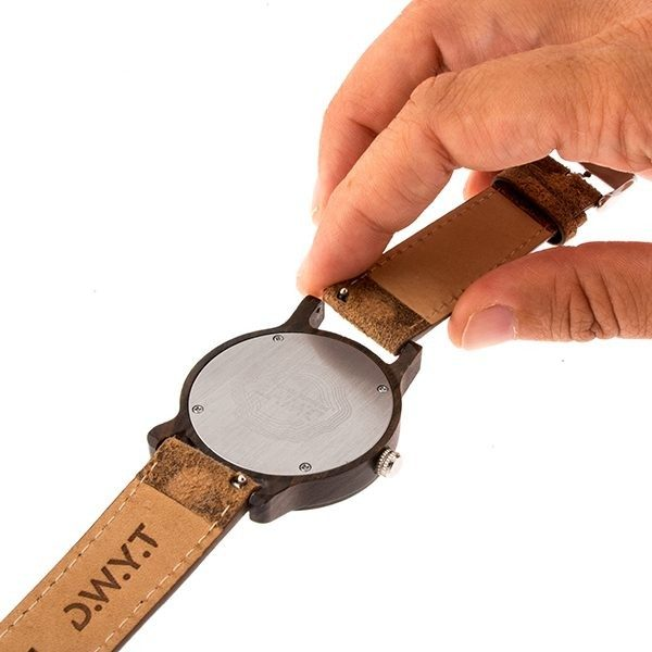 bracelets de montres en bois