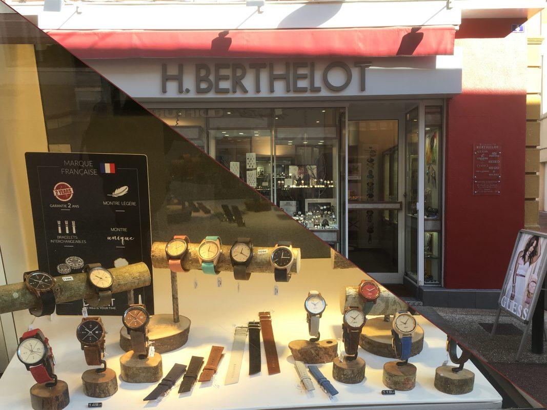 montres en bois Andrezieux