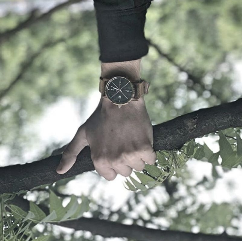 montre en bois Vincennes