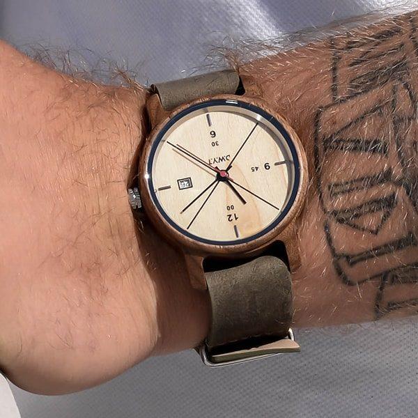 Montre homme tendance Baikal avec bracelet nato