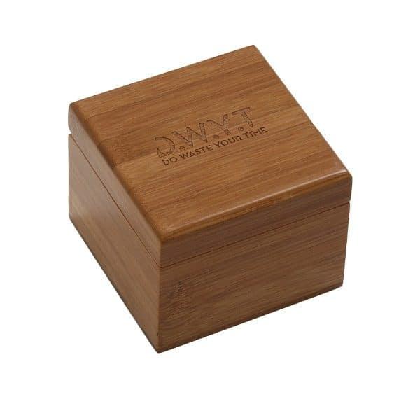 Écrin de montre premium en bois