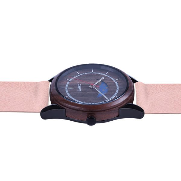 Montre New Moon Grainé Pivoine