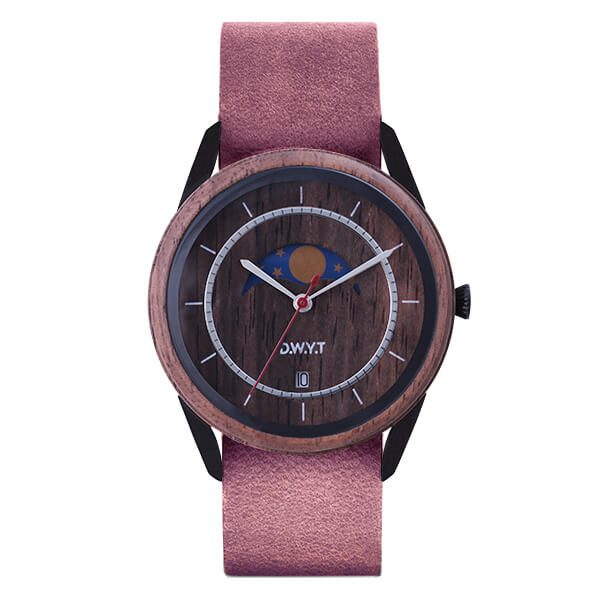 Montre New Moon Nato velvet Violet Prune