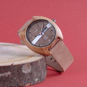 Montre en bois la gaubretière