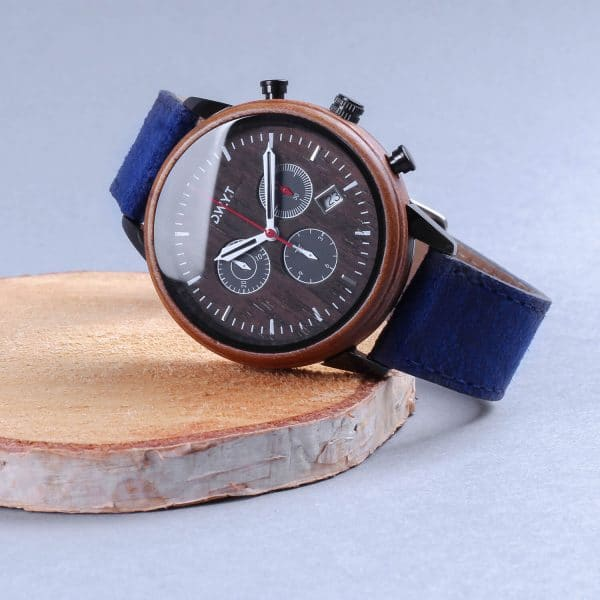 Men's wooden watch Explorer Vasco De Gamma