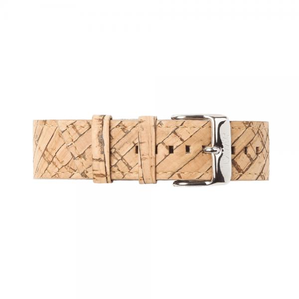 Bracelet de montre vegan en liège
