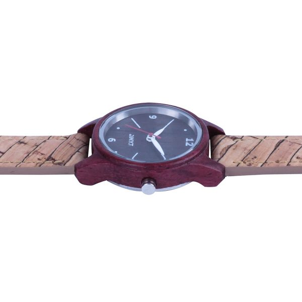 wooden watch vegan petra cork bracelet