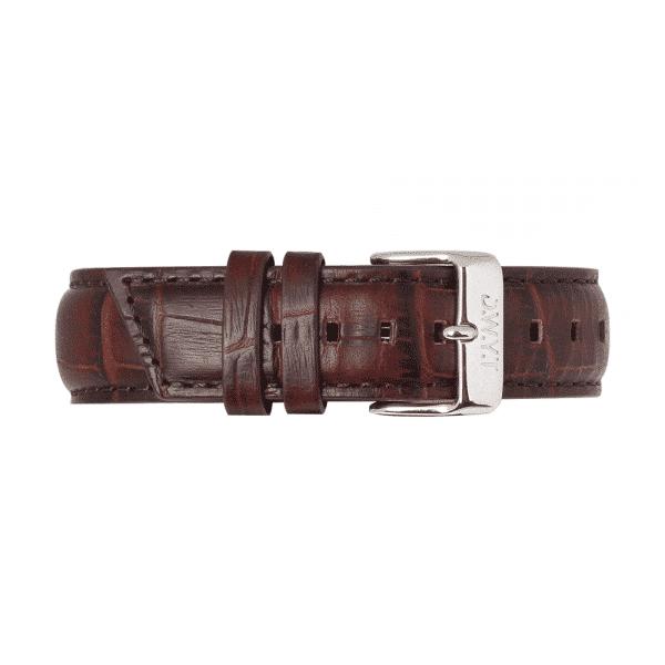 Bracelet en cuir imitation croco