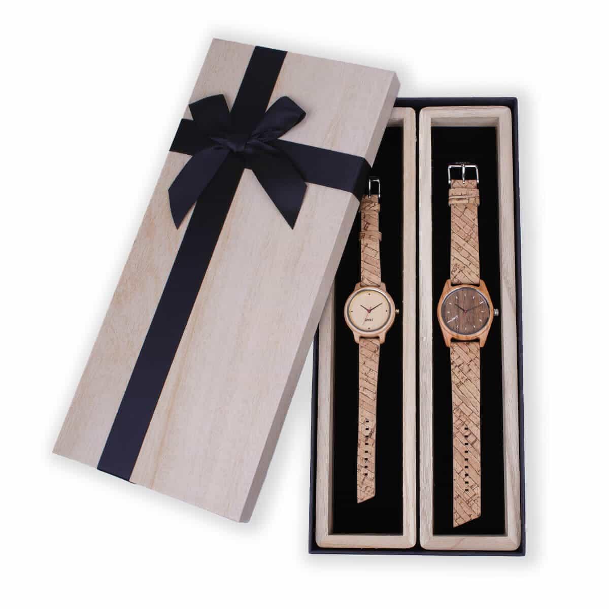 Coffret-cadeau-vegan-montres-couple