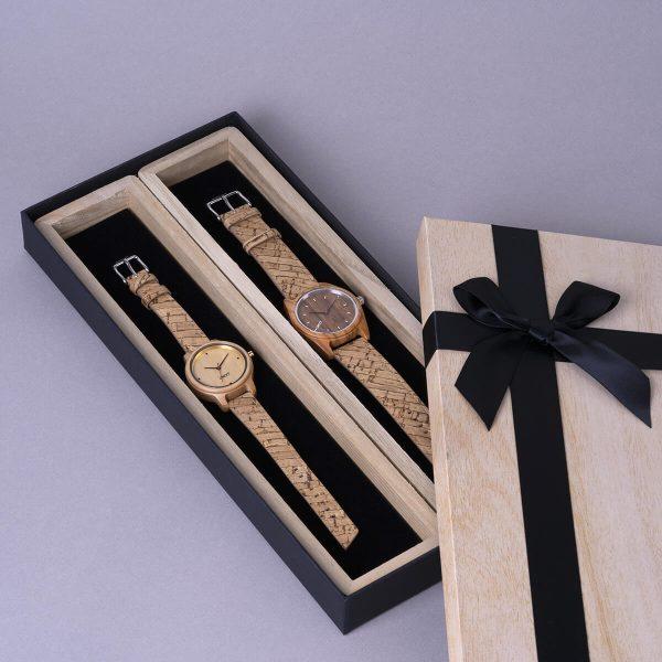 Coffret-cadeau-vegan-montres-DUO