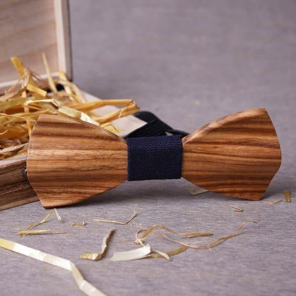 noeud en bois zébré