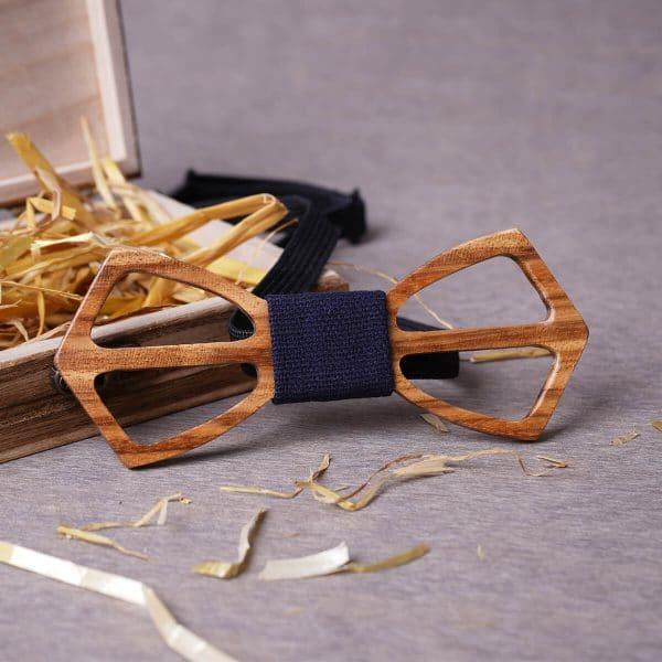 noeud papillon bois original pour homme