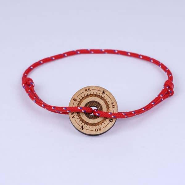 Bracelet marin rouge
