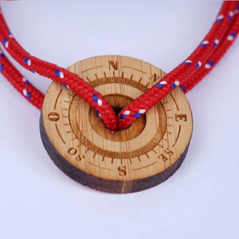 Bracelet cordon homme passionné aventure