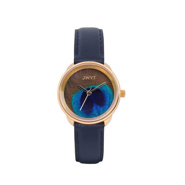 montre golg bleu marine