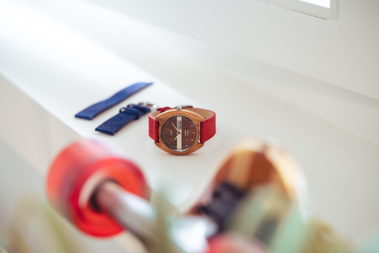Montre homme vintage canut made in lyon avec bracelet interchangeable