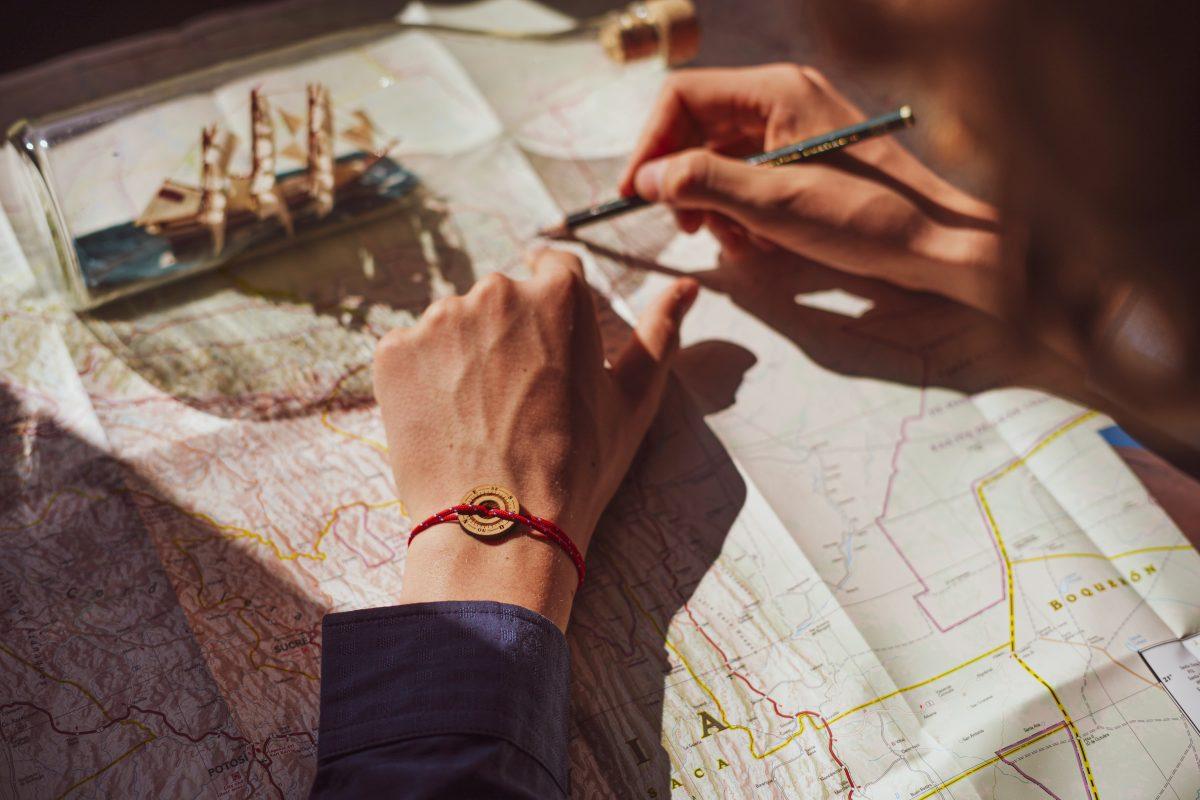 Accessoire personnalisé sous forme de bracelet médaillon