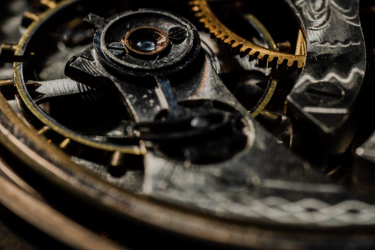 Rouages de la création d'une montre
