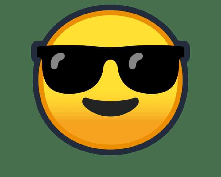 emoji lunettes