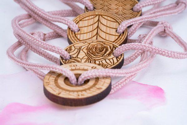 Bracelets en corde Octobre Rose édition spéciale
